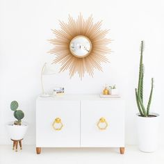DIY retro sideboard // IKEA