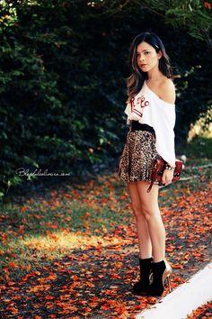 Blog da Lê-Moda Acessível: T-shirt e animal print