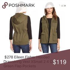 I just added this listing on Poshmark: Eileen Fisher Hooded Vest. #shopmycloset #poshmark #fashion #shopping #style #forsale #Eileen Fisher #Jackets & Blazers