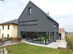 Finde ausgefallene Häuser Designs: Faszination Haus  -  Passivhaus in Kleinkarlbach . Entdecke die schönsten Bilder zur Inspiration für die Gestaltung deines Traumhauses.