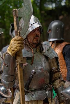 modern reproduction of knight in armour