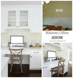 Butler Pantry and Kitchen Office Updates | So Much Better With Age