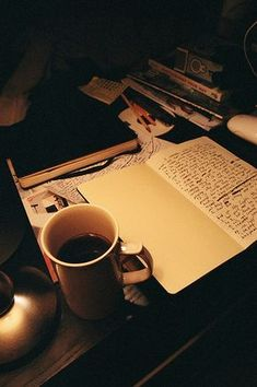 """""""Writer is someone who could turn caffeine into books"""" - copied Studyblr, Writing Inspiration, Journal Inspiration, Study Pictures, Study Organization, Motivational Quotes For Women, Coffee And Books, Study Hard, Book Aesthetic"""