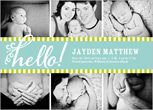dad with legs photo and card Baby Boy Birth Announcements & Baby Boy Announcements | Shutterfly