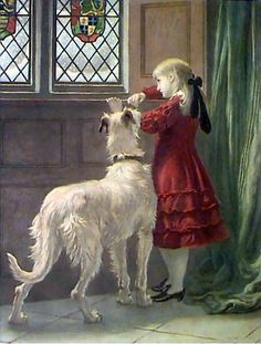 Briton Riviere ~ English Painter 1840-1920 ~ Imprisoned