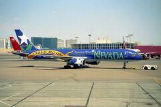 "America West Airlines ""Nevada"" Boeing 757-225 (N915AW) by ChicagoKoz, via Flickr"