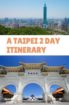 Two days is the perfect amount of time to enjoy the best of Taipei. Here's an informative Taipei 2 day itinerary for planning your trip! Asia travel guide - must things to do in Asia Travel Guides, Travel Tips, Travel Destinations, Taiwan Itinerary, Taipei Travel, Travel Movies, Asia, Visit China, China Travel