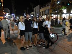 Fans loved taking pictures with the #VezaGirls at the 3rd Street Promenade in Santa Monica. www.vezabands.com