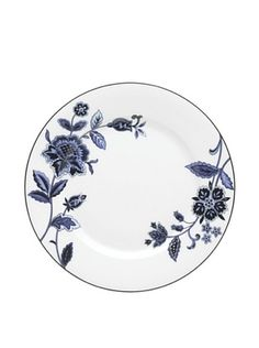 64% OFF Mikasa Indigo Bloom Accent Plate