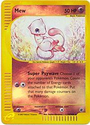 Pokemon Reverse Holo Promo Card 19 - Mew - 19/165 $29.99-$34.99