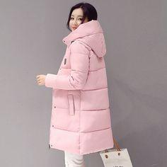 2016 Down parka women autumn winter coat down long coat 8665 winter jacket women coat