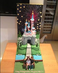 The Eleanor Calder Vs Selena Gomez Ultimate Cake-Off   Sugarscape   I say I absolutely LOVE Eleanor's cake better than Selena's. It looks so adorable and I love the little message at the bottom. :) El wins!!