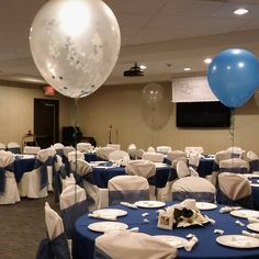 Balloons, Linens, Chair Covers. Wedding January 2018