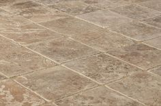 BuildDirect – Travertine Tiles - Tumbled – Noce Classico Rustic - Angle View