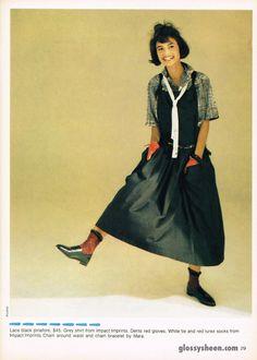 1984 Dolly Magazine scan