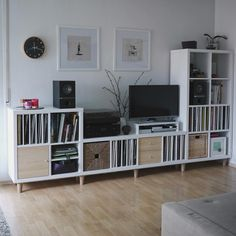 Image Result For Kallax Mix And Match Ikea Shelf Hack Bedroom