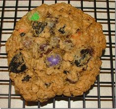 Halloween Monster Cookies at Baking and Boys!