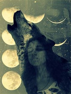Sometimes we need to howl at the full moon to release built up tensions, cleansing us for renewal and activity. MinervaDivine