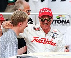 Dale Earnhardt Jr. & Sr.