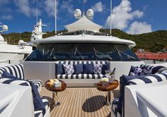 lazy day on the yacht.