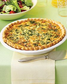 Spinach and Gruyere Quiches. For Christmas Brunch also, to finish off the cheese. :)