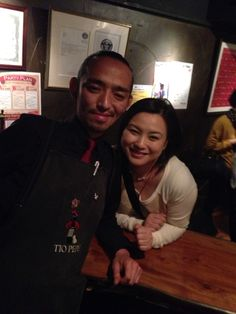 Year End Event at Sherry Club Ginza. With General Manager Mr. Sugama.