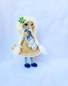 #doll #crochetdoll #dollcollection #amigurumidoll #amigurumi #papusa #crochetlove #12 #handemadedoll
