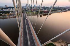 Näkymä Syreny-sillalta Varsovasta. Vadim Makhorov ja Vitaliy Raskalov GEO