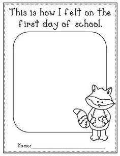 Looking for some activities to use with 'The Kissing Hand?' Here you will find different activities that you can use for the first week of school with Chester the Raccoon. Preschool First Day, First Day Activities, Name Activities, Preschool Special Education, Kindergarten First Day, Preschool Learning Activities, Preschool Books, Back To School Activities, Preschool Lessons