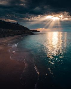 Find images and videos about photography, nature and beach on We Heart It - the app to get lost in what you love. Beautiful Sunset, Beautiful Beaches, Beautiful World, Beautiful Scenery, Nature Pictures, Beautiful Pictures, Landscape Photography, Nature Photography, Photography Photos