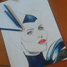 Elena @eleepux Instagram photos  #Maleficent #mywork