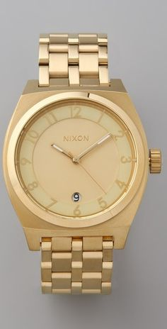 Nixon Monopoly Watch. How I heart thee...and the previous version.