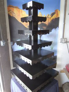7 Tier Custom Made Cupcake Stand with by MikesAmazingStands, $322.00