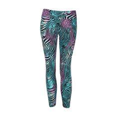 Pattern Legging Zebra Rainbow- Small  In Stock: $91