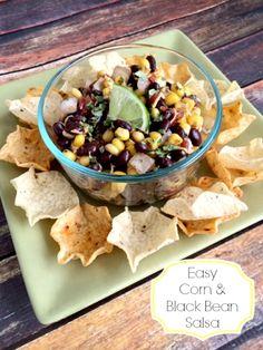 Easy Corn Salsa Recipe - Penney Lane Kitchen