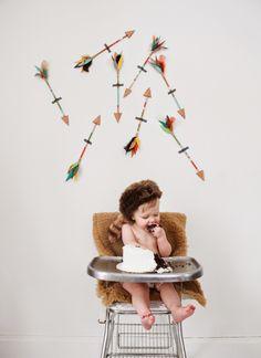 www.JohnnaHolmgrenPhotography.com  Moonrise Kingdom- Jude Turns One! Cake smash!