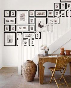 "249 Likes, 3 Comments - David_M_Watts (@david__m__watts) on Instagram: ""Gallery wall #interiors #wattswhat"""