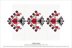 Semne Cusute: MOTIVE: (P31, M9) Creative Embroidery, Folk Embroidery, Cross Stitch Embroidery, Embroidery Patterns, Knitting Patterns, Simple Cross Stitch, Cross Stitch Borders, Cross Stitch Charts, Beading Patterns
