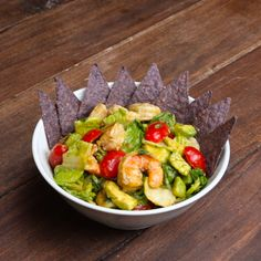Shrimp and Avocado Salad . Tag a friend that needs to make this for you! Tasty Videos, Food Videos, Taco Salat, Proper Tasty, Asian Recipes, Healthy Recipes, Avocado Salad Recipes, Meal Prep Plans, Brenda