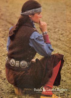 styleregistry: Ralph Lauren | Fall 1981#RLVintage