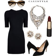 """Halloween Style: Audrey Hepburn"" by cakestyle on Polyvore"