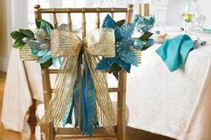 Make It with Joy Hanging #Ribbon Chair #Tieback #Holiday