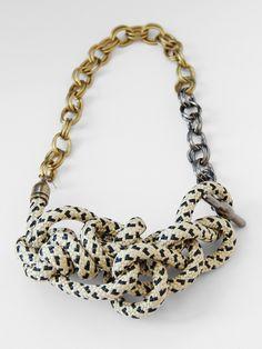 Orly Genger Magnolia Necklace - Zebra « Pour Porter ($200-500) - Svpply