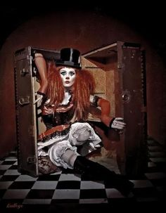 steampunk clown costume - - Yahoo Image Search Results
