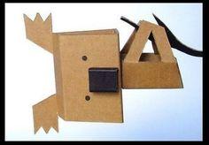 Cardboard koala- too cute!!!: