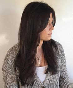Haircut With Face-Framing Layers For Long Hair