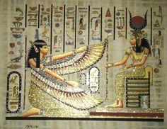 Arte Egipcio. Papiro Egipcio. - $ 900,00 en MercadoLibre
