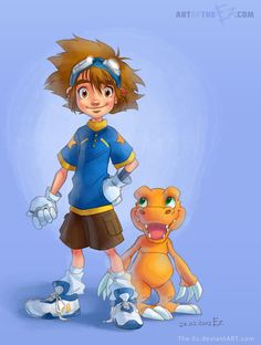 Digital Friends - Digimon Fan Art by *The-Ez on deviantART