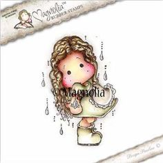 Magnolia Stamps - Spring Fever - Spring Rain Tilda