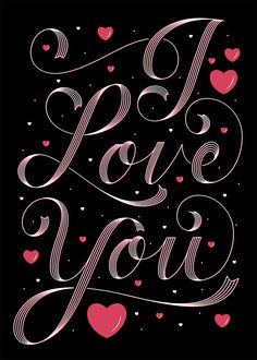 Shop I LOVE YOU / Folded Valentine's Card created by Lettermuse_Co. Personalize it with photos & text or purchase as is! Iphone Background Wallpaper, Heart Wallpaper, Apple Wallpaper, Love Wallpaper, Red Background, Iphone Backgrounds, Love You Gif, Love You Images, My True Love